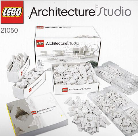 Lego Architecture Studio Inside