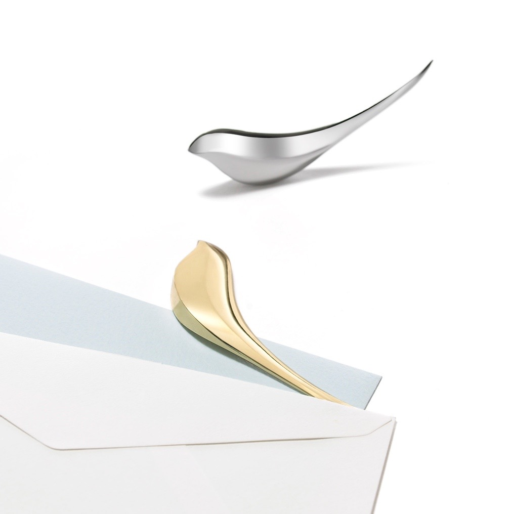 Birdie-paper-knife-silver-+-gold