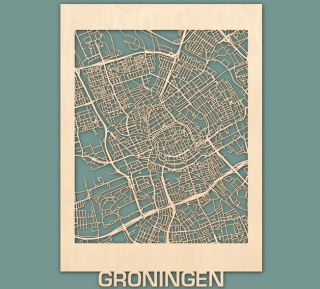 citymap-groningen-berken-50x70-render